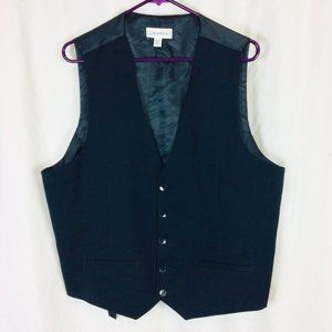 Black Calvin Klein formal vest  (Size XL)